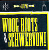 "Schwervon! / Woog Riots - People Working With Computers & Balloon - Split 7"" Sin"